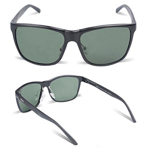 Duccom Duco Noir sports Vert de style polarisées 8200 Lunettes pilote lunettes qwTq70