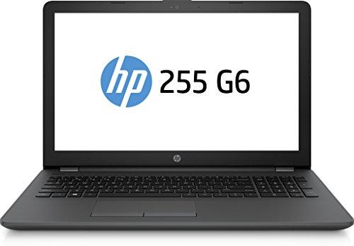 HP 255 G6 3QL60ES (15,6 Zoll / FHD) Business Laptop (AMD A6-9220-APU, 1 TB HDD, 4 GB RAM, AMD Radeon R4 Grafik, DVD-Writer, FreeDOS 2.0) Schwarz