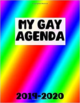 My Gay Agenda 2019-2020: July 2019-December 2020 Monthly and ...