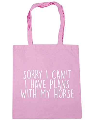 Gym Horse I Pink My I Shopping With HippoWarehouse Beach 42cm Tote Have Classic Bag Plans x38cm 10 Can't litres Sorry gqH58x8nP