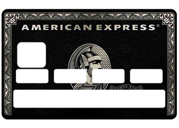 Carte American Black.Stickers Cb American Black Carte Bancaire Amazon Fr