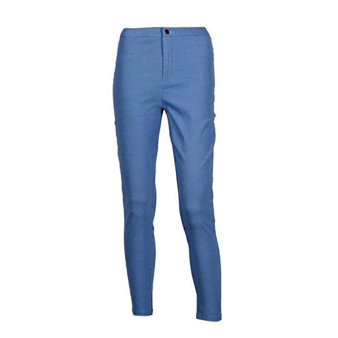 Adelina Herren Ripped Jeans Skinny Jeanshose Knie Hose