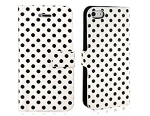 PU Protective Case for iPhone 5 (White) + Worldwide free shiping