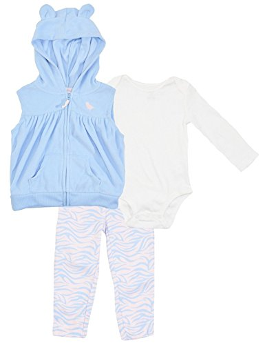 Carter's Baby Girls Microfleece Outfit Set (24M)