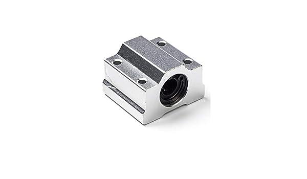 Rodamiento de Movimiento Lineal Cerrado con Juntas de Goma DIY Mechanicals SCS16UU 16 mm 4