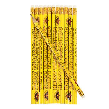 Happy Thanksgiving Pencils - Teaching Supplies & Stationery & Pens & Pencils