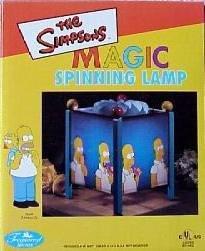 Spinning Magic Lamp (Simpsons Homer Simpson Donut Magic Spinning Lamp)
