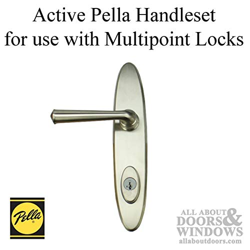 Pella Classic Collection, Locus Handleset, Active Keyed Trim for Multipoint Lock