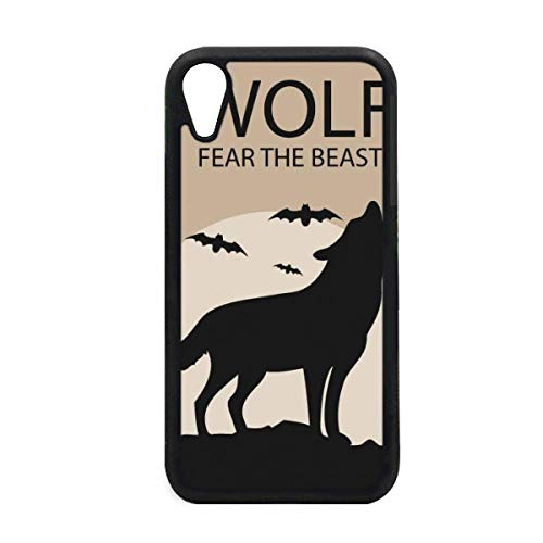 Wolf Ghost Fear Halloween Pumpkin iPhone XR iPhonecase Cover Apple Phone Case -