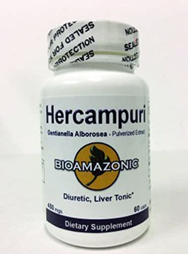 Hercampuri - Used for Liver Function - Somos Natura - 60 Capsulas