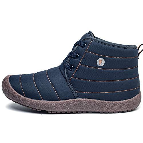 da EU Blu 39 antiscivolo Stivali da lacci uomo con Colore Jincosua Dimensione Stivali da impermeabili morbidi pioggia sole aCq6745wx