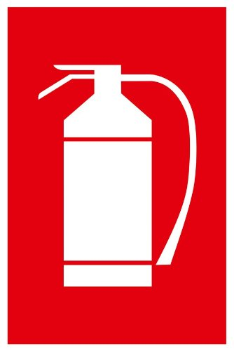 Connex DY220846Sign 'Fire Extinguisher, 200x 300mm Weather-Resistant