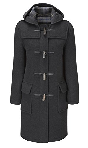 Original Montgomery Womens Duffle Coat -- Charcoal (08)