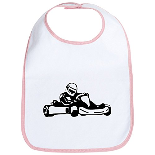 Childrens Go Karting - CafePress - Go Kart Racing Bib - Cute Cloth Baby Bib, Toddler Bib