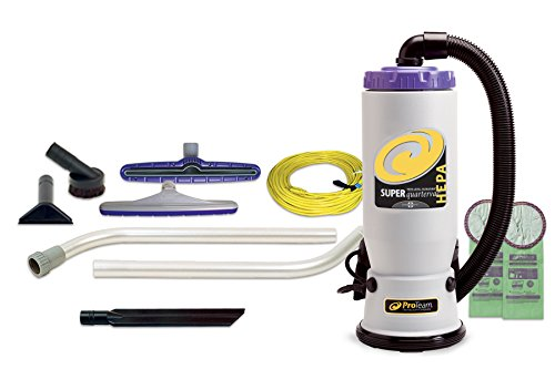 bagless backpack vacuum cleaner - 8