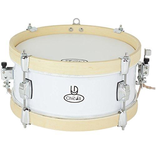 REDOBLANTE - Redoblante Mini Chicota 30X12 REF. LD4300 Color Blanco by LD Percussion