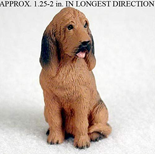 Ky & Co YesKela Bloodhound Mini Hand Painted Figurine Hand Painted