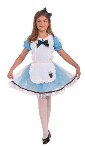 Forum Novelties Alice Costume, Medium - Girls Alice Costume