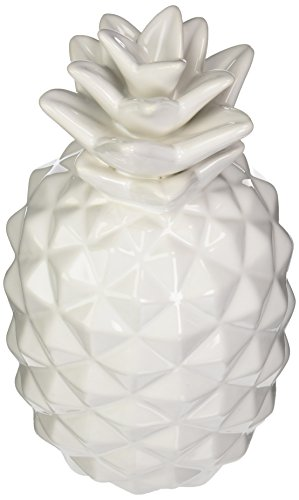 Urban Trends 43049 Ceramic Pineapple Figurine SM Gloss White Finish for $<!--$29.60-->