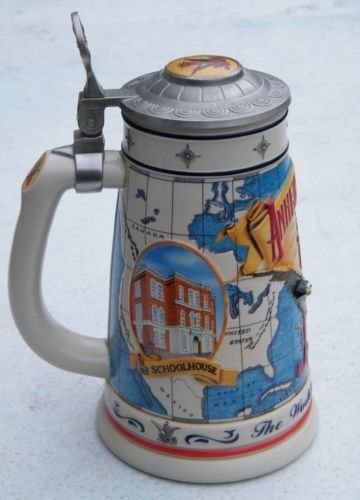 Budweiser Anheuser-Busch Collectors Club Members Only Stein 1996