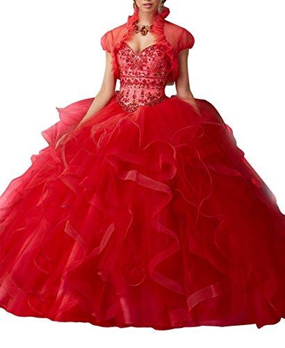 Senza Rosso ad Abito Donna da Bridal Mall maniche linea sposa a qvXq0wO