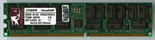Kingston 1GB REG DDR333 184-Pin DIMM ( KVR333X72RC25/1G )
