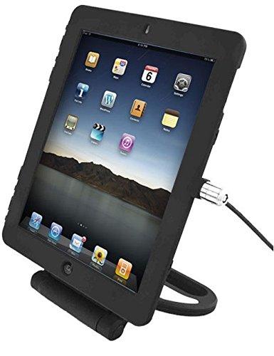 Compulocks - Soporte de Seguridad Giratorio con Cable de Bloqueo para iPad Air, Negro