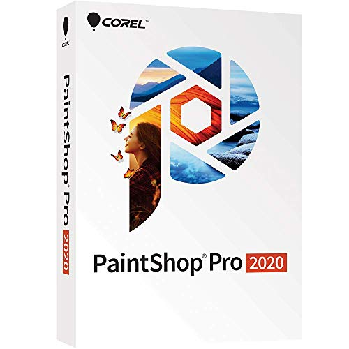 Corel PaintShop Pro 2020 – Photo Editing and Graphic Design Software [PC Disc][Old Version]