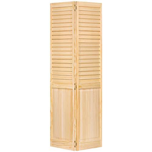 Bi-fold Door, Louver Panel Plantation 1x24x80 (Wood Bifold Doors)