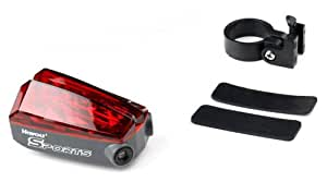Pellor New 5-LED Bicycle Bike Laser Tail Light Lane for Outdoor Cycling Camping