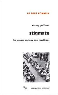 Stigmate par Erving Goffman