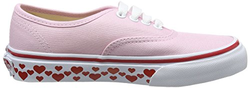 Tape UY Rosa Authentic Niñas Pink Vans Zapatillas Hearts para Red Lady 1xB0xa