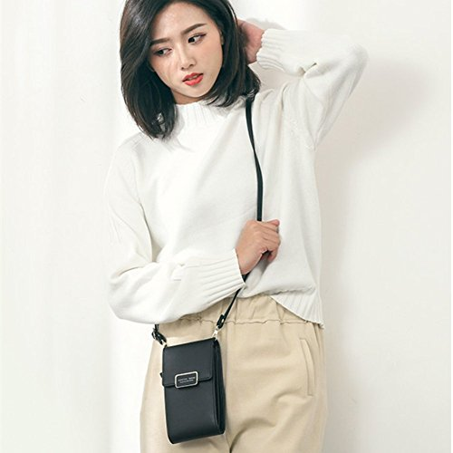 Cell Crossbody Women Small Purse Black Bag Wallet Bags Phone R6pt6Zx