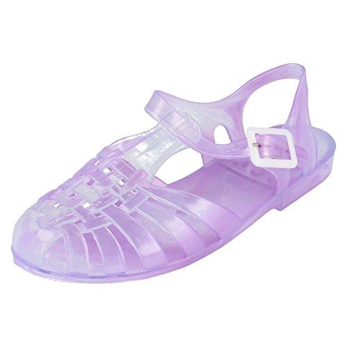 Sandaali Paikalla F0892 Hyytelö Kiinnitys Lila Naiset Soljen PETqwqd