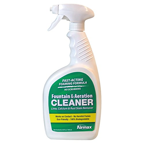 Fountain and Aeration Cleaner, 32 oz Spray Bottle