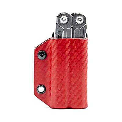 Clip & Carry Kydex Multitool Sheath for Leatherman WINGMAN - Made in USA (Multi-tool not included) Multi Tool Sheath Holder Holster