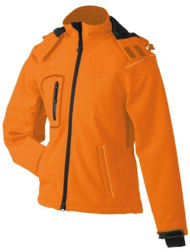 James & Nicholson, Damen, Winter Softshell Jacket M,Orange
