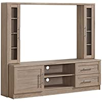 Techni Mobili Entertainment Center with Storage for TVs Up To 50, Sand