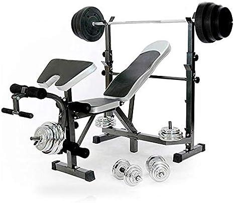 Banc De Musculation Multifonction Pliable Banc De Halteres Fitness Amazon Fr Sports Et Loisirs