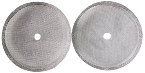 French Press Coffee Maker Comprehensive 4,6, or 8 Cup Filter Screen (2 Pack) Replaces Bent and Worn French Press Mesh Screens