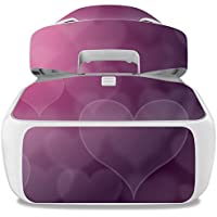 Skin For DJI Goggles – Purple Hearts | MightySkins Protective, Durable, and Unique Vinyl Decal wrap cover | Easy To Apply, Remove, and Change Styles | Made in the USA