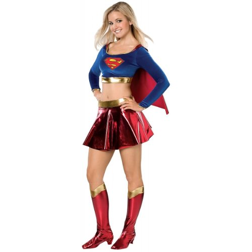 Rubie's Costume Co Women's DC Superheroes Supergirl Teen Costume, Multi, Teen -