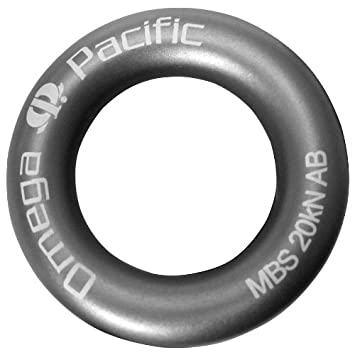 Amazon.com : Omega Pacific Rap Ring : Locking Carabiners : Sports ...