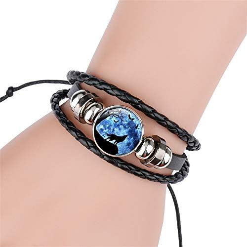 Bracelets The Pretty Gifts for Women GOOKEY Adjustable Wolf ...