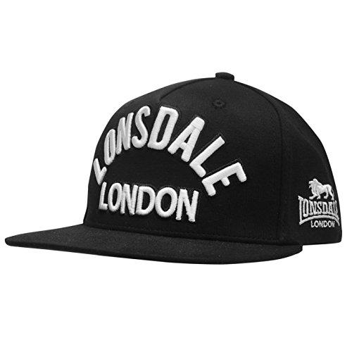 Gorra para negro única negro hombre LONSDAL de Talla béisbol daWnxBqt