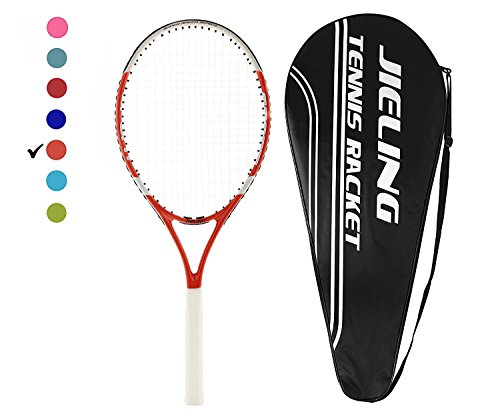 """27"""" Offensive Tennis Racquet 4 1/8in Grip with Rackets Bag for Men/Women By Jieling"""