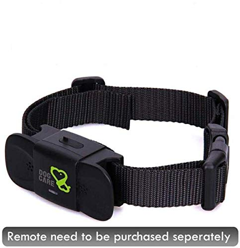 Dog Training Collar Receiver – Dogcare Rechargeable Shock Collar Receiver, Training Collar with Adjustable Collar Dog