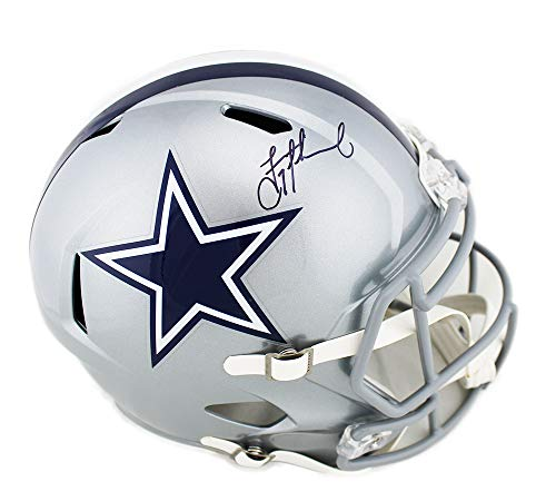 Dallas Cowboys Pro Autographed Helmet - Troy Aikman Autographed/Signed Dallas Cowboys Speed Full Size NFL Helmet
