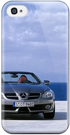 For Iphone 4 4s Protector Case Mercedes Slk 350 Wallpaper Phone Cover Amazon Co Uk Electronics