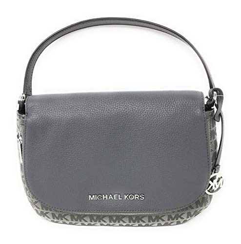 Michael Kors grey crossbody bag | Michael Kors Bedford Women's Crossbody Bag Purse Heather Grey